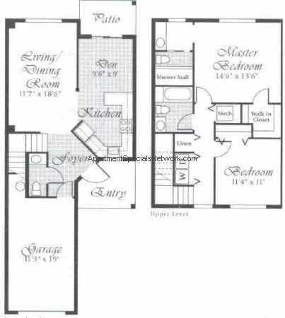 Delray Beach Apartment Rental Db141 2 Bedroom Floor Plans